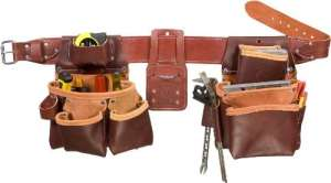 Occidental Leather 5080DBLH XL Ceinture porte-outils à 2 sacs pour gaucher TailleXL