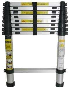 Varan Motors–dlt208b échelle télescopique en aluminium 2.6M, 9échelons