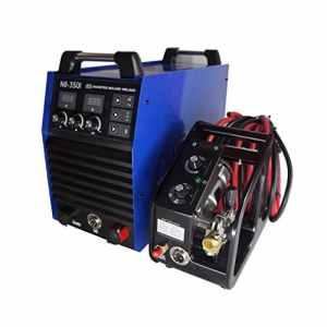 Hitbox Inverter MIG wleder NBC 350A 380V DC Puissance forte Machine Cycle soudage MIG et ARC À Souder haute performance avec MB24torche