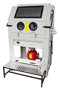 Sableuse Sogi cabine de sablage à pression pallinatrice professionnelle avec aspirateur s-218p