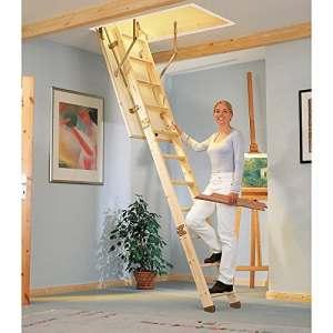 Dolle sol escalier Compact 130/70cm droite, Épicéa