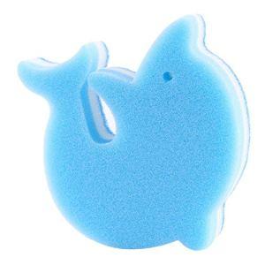 Bigsweety Dauphin Shafed Traiteur Éponges à Récurer pour Les Cuisines des Salles de Bains et Nettoyage (Bleu)