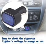 Écran LED allume-cigare électrique Tension Mètre pour auto batterie de voiture