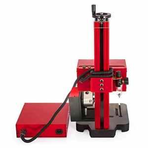 IDABAY Machine de Marquage Gravure Machine à Sculpter Estampage Rotation Triaxiale 200W 0.2-0.6Mpa