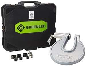 Greenlee 1731Portable C-frame Punch pilote avec 1/2vers des conduits de 2,5cm Perfore