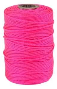 Outils de tâche T27217500-feet tressée Ligne de construction en nylon, Rose