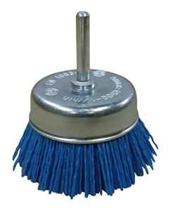 Ironside 243050 Brosse à fils fin 75 mm Bleu
