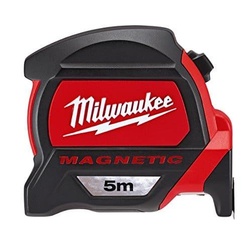 Milwaukee 48227305Hp5mg/27Premium–Mètre à ruban magnétique–Rouge/Noir