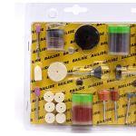 Set d'Ponceuses , électriques Set de patins pour rectification électrique Set de forets pour Kit de ponçage pour ponçage Hobby–105pcs