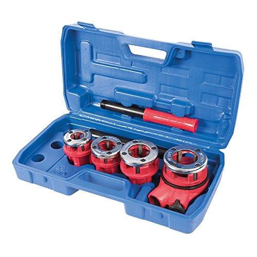 Silverline 868556 Coffret de filières de plombier 13/19/25/32 mm