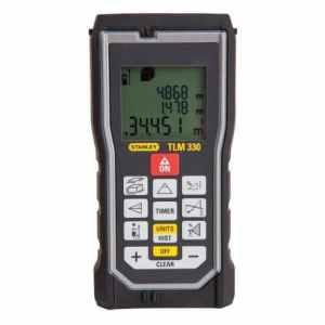 Stanley stht77140Laser Distance measurer tLM330Size: 330-foot Range, quincaillerie