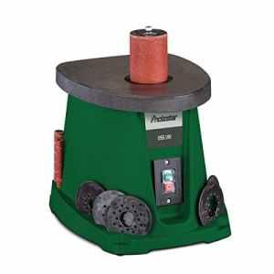 Stürmer 5903500 Holzstar OSS 100 Ponceuse oscillante pour travaux de bois, avec embouts abrasifs et rouleaux abrasifs en caoutchouc