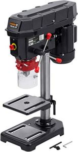 Meister TBS350-2M Perceuse de table à 5 niveaux de vitesse variable variable et angle de perçage – Profondeur de perçage : 50 mm – Perceuse à colonne/perceuse à colonne/perceuse à pied / 5452530