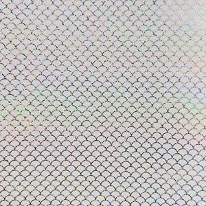 HATCHMATIC Leurre 10pcs / lot 10X10cm arc-en-poisson échelle Honeycomb Trannt Hologram Sticker Accessoires Pêche Lure: poisson échelle Dot, 10X10cm