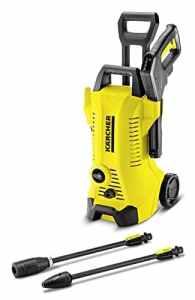 Kärcher 4054278533728 K 3 Full Control Nettoyeur haute pression avec accessoires, poignée télescopique, pistolet avec indicateur de pression manuel et réservoir de détergent.