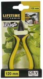 Lifetime Tools 42564 Mini Pince chrome vanadium multifonction 12 cm