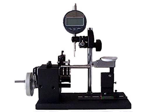 Manuel Précision de rotation testeur/Rond battre téléphones/Déflexion Instrument/tige à mesurer Précision de rotation pour diamètre 1–35mm de longueur 0–100mm