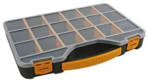 Perel OMR13 Boîte de rangement/organiseur 326x257x48 mm