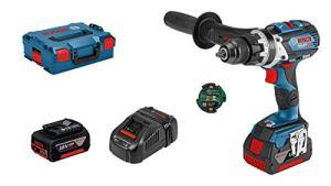 Bosch Professional 06019G0308 Perceuse-visseuse à Percussion sans-fil GSB 18 V-85 C (1 batterie 5,0 Ah, 1 batterie SL 3,0 Ah, 18 V, dans L-BOXX)