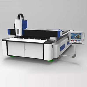 DIHORSE 1000W Fiber Laser Cutting Machine Big Size for Metal Plate with 1500 * 3000mm Working Size Welding Lathe Bed High Accuracy