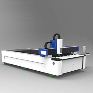 DIHORSE 500W Fiber Laser Cutting Machine for Thin Metal Plate with 1500 * 3000mm Working Size Welding Lathe Bed for High Accuracy