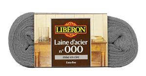 LIBERON Laine d'acier n°000 – Mise en cire – 150gr