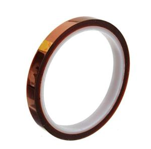 WopenJucy 10mm 100ft Heat Resistant 280℃ ruban Polyimide Tape Rouleau