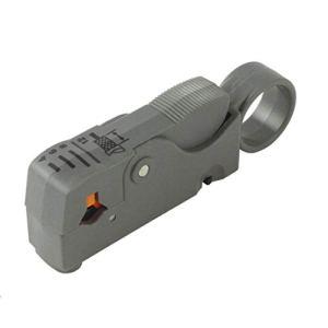 LouiseEvel215 Outil de ménage Multifonctionnel Rotatif coaxial coaxial Outil de Coupe de câble RG58 RG59 RG6 matériel dénudeur de Fil