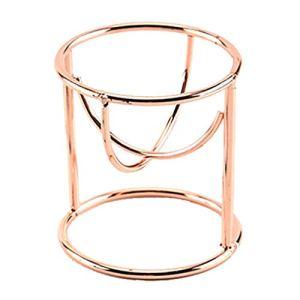 Porte-bouffon en poudre pour cylindre Porte-éponge Support de base pour touffe Mélangeur Séche-tout Outils de beauté pour la maison – Ou rose