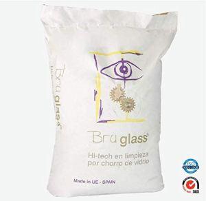 BruGlass Hi Tech verre technique abrasif pour sablage – 10 kg sac