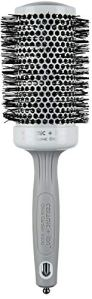 Olivia garden ceramic + ion brosse thermale ronde diamètre 55mm – antistatique, tourmaline-ion et poils en nylon