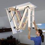 Echelle de grenier FAKRO LWK Comfort Plus – 70 x 100 x 280