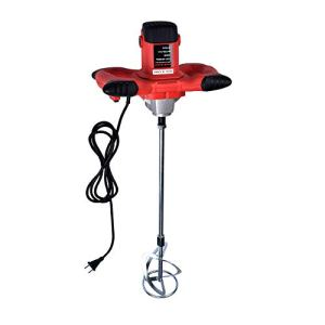 1500 W-Handheld Electric Cement Mixer For Mortars Concretes Grouts Adjustable 6 Speed,Mélangeur de peintures et de mortiers (1600W)