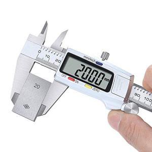 BU-SOH Vernier Caliper Acier Inoxydable électronique Vernier Caliper Caliper numérique de Haute précision 150mm Étrier Blanc Outil de Mesure (Color : White, Size : One Size)