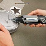 Dremel 9901 Fraise en Carbure de Tungstène pour Sculpter et Graver le Métal et le Bois, Diamètre 3.2 mm