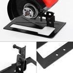 Leyeet Support pour meuleuse en acier épaissi, support pour meuleuse d'angle de 2 à 3 cm, réglable, facile à installer