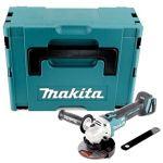Makita DGA506ZJ Meuleuse D'angle en Coffret Makpac 125 mm 18 V