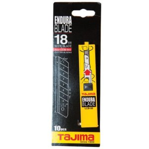 Tajima LB50CD 10 Lames pour cutters 18 mm