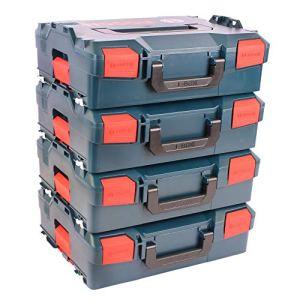Bosch L-Boxx 136Lot de 4Taille 2sans insert–Nouvelle Version