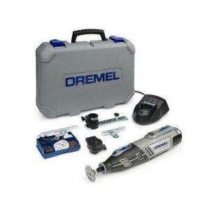 Dremel 8200-2/45 Outil rotatif multi-usage sans fil Li-Ion (10,8V) 1 coffret 1 batterie 2 adaptations et 45 accessoires