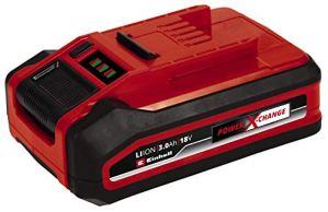 Einhell Batterie 18V3,0Ah Power X-ChangePLUS (compatible avec tous les appareils Power X-Change, système de gestion de batterie proactif, cycles de charge adaptés à l'état, vendue sans chargeur)