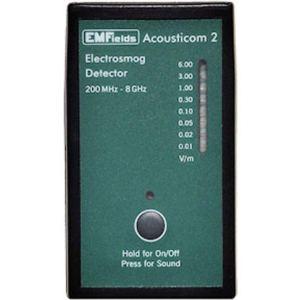 Acousticom 2 radiofréquence m rf mètre protection EMF. Abordable, petit, précis