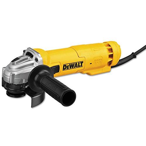 DEWALT Angle Grinder Tool, 4-1/2-Inch, Slide Switch, 11-Amp (DWE4214)