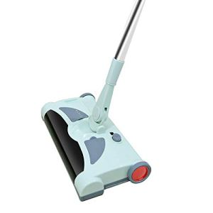 KIUY Balayeuse Rechargeable sans Fil Légère, jusqu'à 60 Minutes d'autonomie, Balayeuse sans Fil Rechargeable Easy Sweep