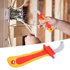 Lames d'électricien, dénudeurs de panneaux de brassage d'outils pour lames de démontage pour l'installation d'outils d'opérations de connexion de disjoncteur