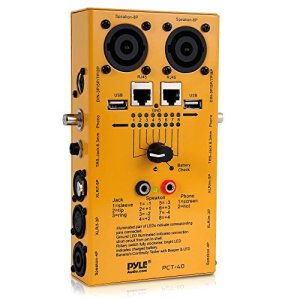 Pyle-Pro PCT40 Testeur de câble 12-en-1