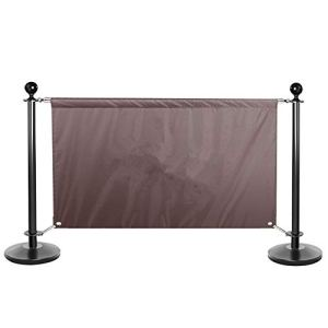 File Barriers Security Pole Posts Isolation Garde-corps épaissi publicité Tissu Clôture aspect élégant Convient for Aéroport Banque Centre commercial pour les événements ou le contrôle des foules