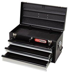 KS Tools Coffre à outils avec 3 tiroirs Noir