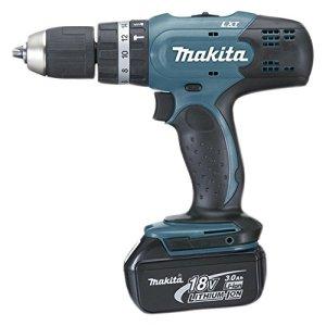 Makita DHP453RFE DHP 453 RFE (avec 2 Batteries inclus) 18 V, Noir, Bleu