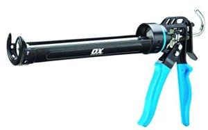 OX Tools P044440 Pro Heavy Duty Sealant Gun 400ml, Bleu, 400 ml
